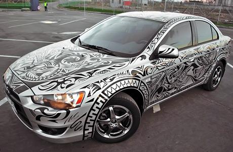 car_aerography