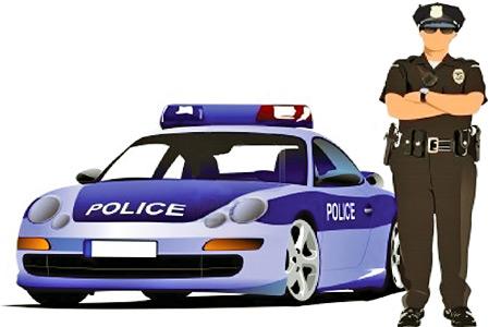 policeman-standing-near-police-car