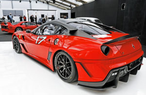 Суперкар Ferrari 599XX