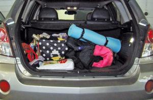 Самые необходимые вещи в багажнике автомобиля