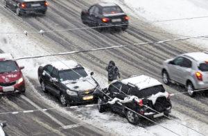 Зимнее вождение: как избежать заноса?